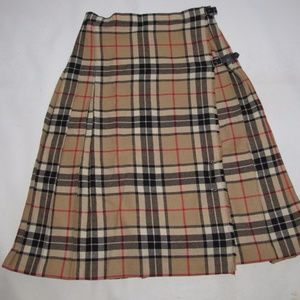 Dresses & Skirts - Plaid Nova Check Kilt from U.K. Size 10